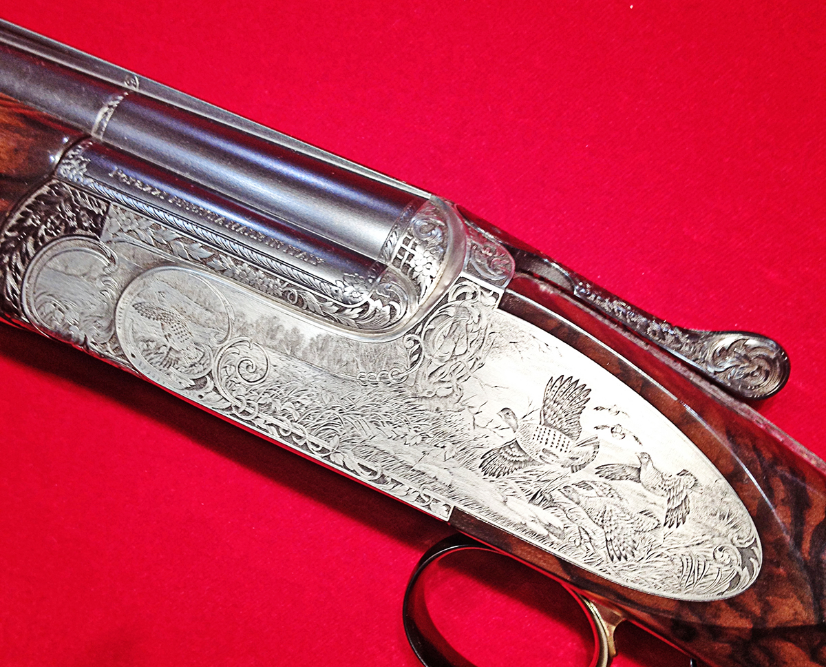 Shotgun Engraving