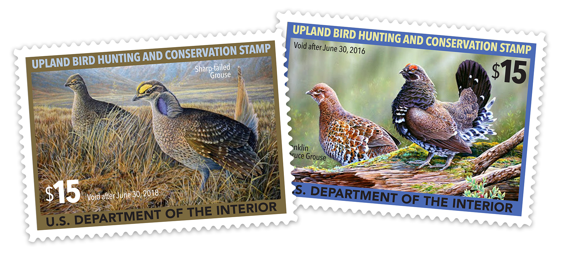 The Upland Stamp