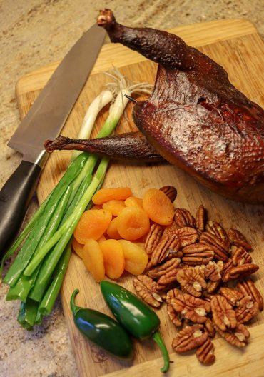 pheasant salad ingredients
