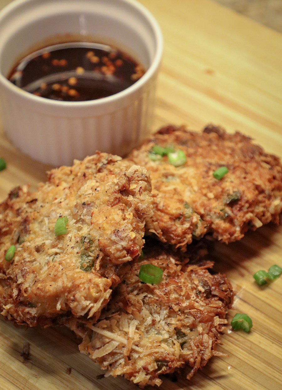 pheasant fritters