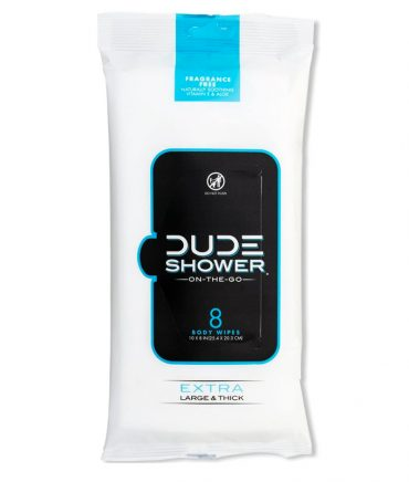 Dude Shower wipes