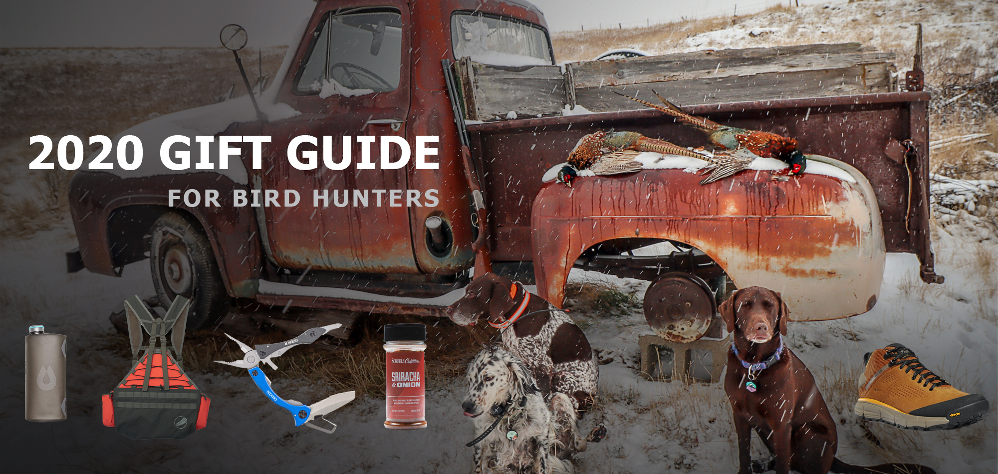 2020 Gift Guide for Bird Hunters